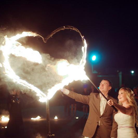огненное сердце на свадьбу